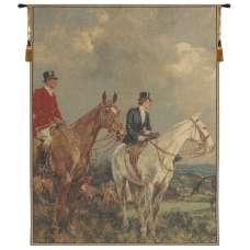 Equestrian Survey Left European Tapestry