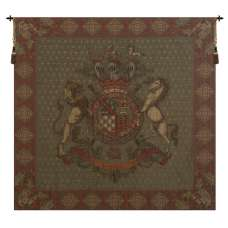 Blason Norfolk Green Square European Tapestry