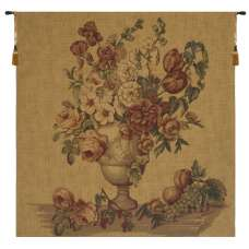 Floral Medley European Tapestry