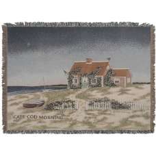 Cape Cod Morning Tapestry Throw