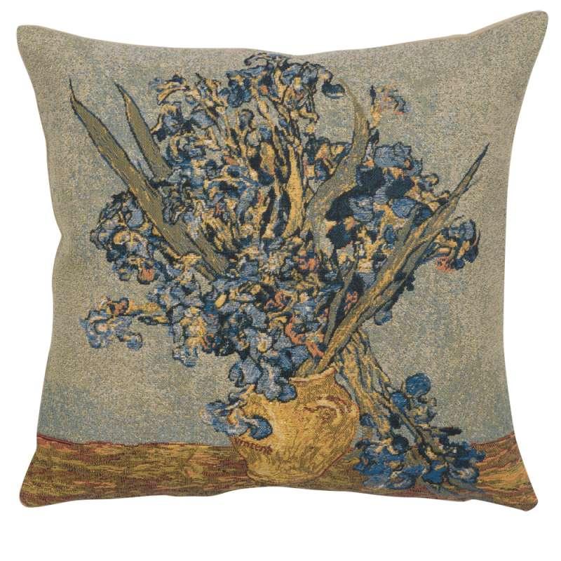 Vase Iris European Cushion Cover