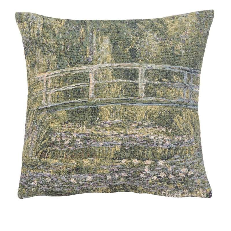Monet's Bridge at Giverny III European Cushion Cover