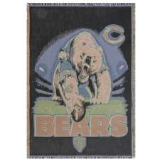 Chicago Bears Tapestry Throw