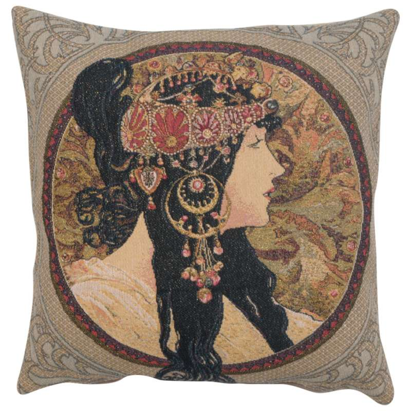 Brunette European Cushion Cover