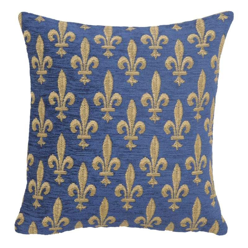 Fleur de Lys Reduit European Cushion Cover