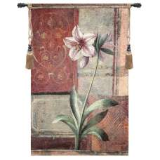 Le Jardin Botanique Lily Fine Art Tapestry