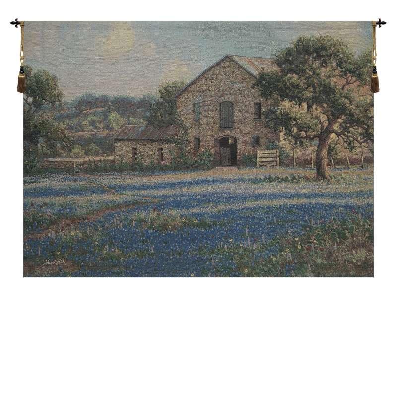 Field of Flowers Fine Art Tapestry