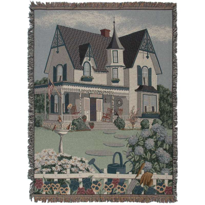 My Grandmothers House Tapestry Throw