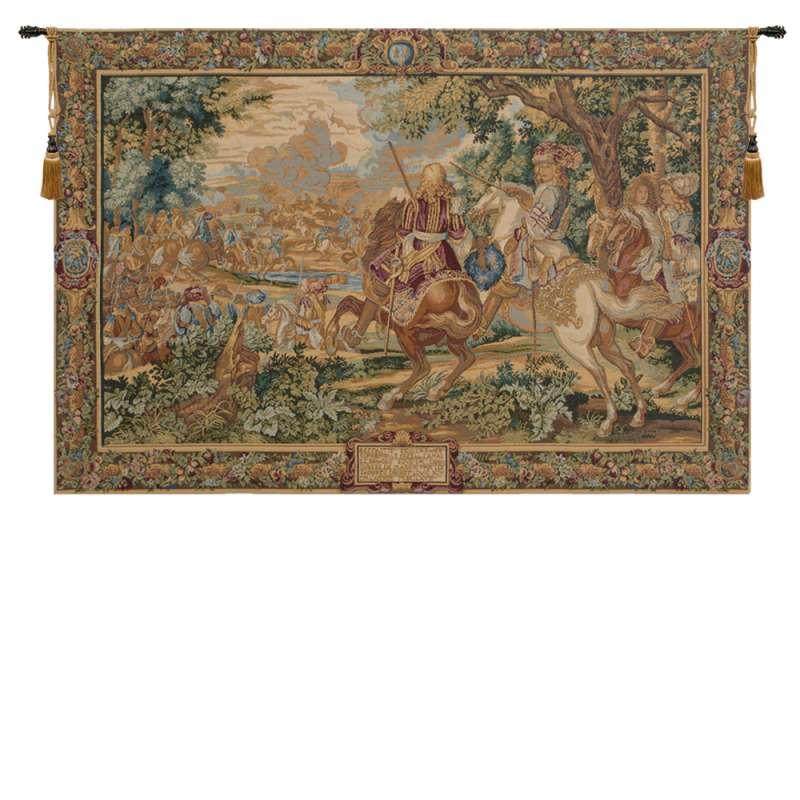 Re Sole Italian Tapestry Wall Hanging