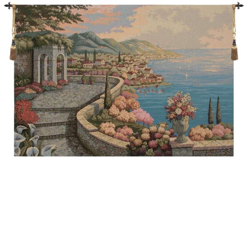 Promenade By The Lake Italian Tapestry