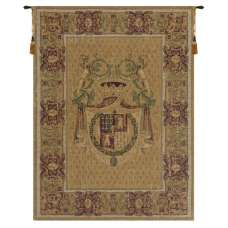 Stemma Tours Chenille Italian Tapestry Wall Hanging