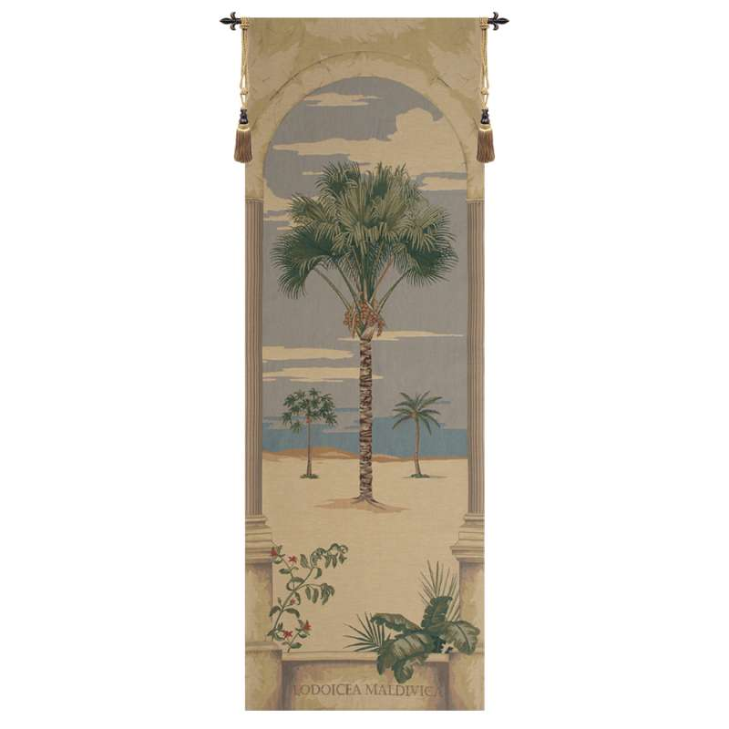 Lodoicea Palm European Tapestry