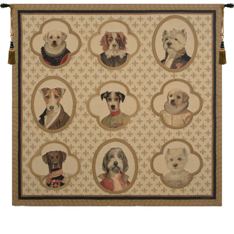 Dogs of Honor European Tapestry