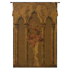 Rose Colonnade European Tapestry