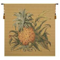 Tropical Pineapple Square European Tapestry