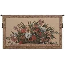 Ann's Floral Basket I European Tapestry