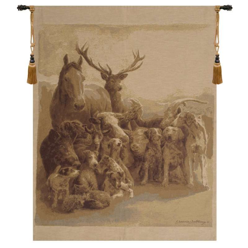 Wild Club European Tapestry