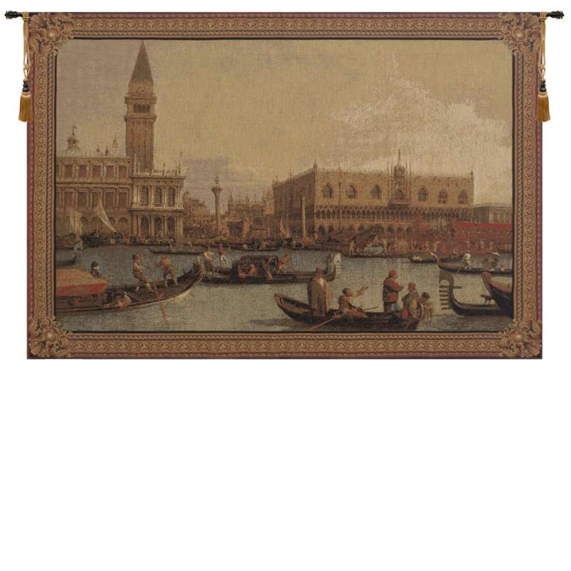 Grand Canal San Marco European Tapestry