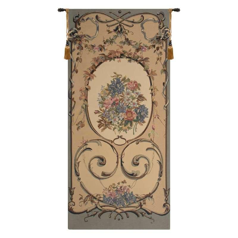 Caroline Blue Belgian Tapestry Wall Hanging
