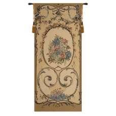 Caroline Gold Belgian Tapestry Wall Hanging