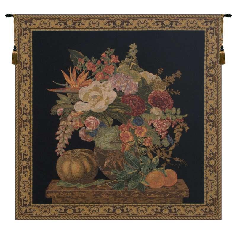 Fragrant Pedestal Black European Tapestry