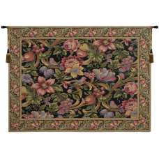 Eve's Floral Paradise European Tapestry
