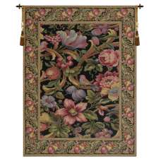 Eve's Floral Paradise Vertical European Tapestry
