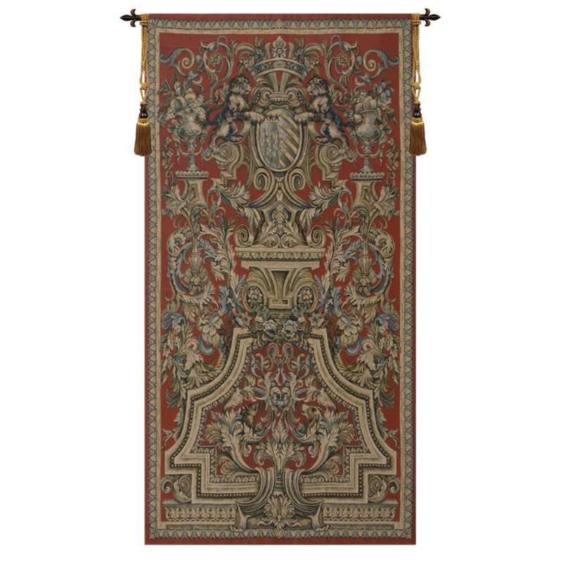 Heraldic Red European Tapestry