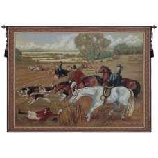 Fox Hunt Fiasco Tapestry Wall Art