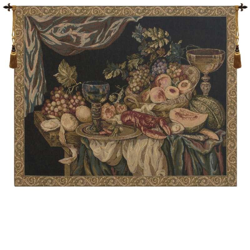 Elegant Feast Setting European Tapestry