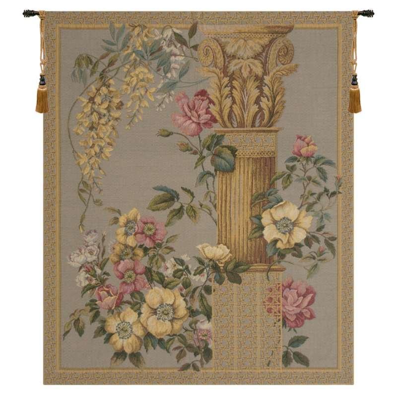 Corinthian Columns Blue  European Tapestry