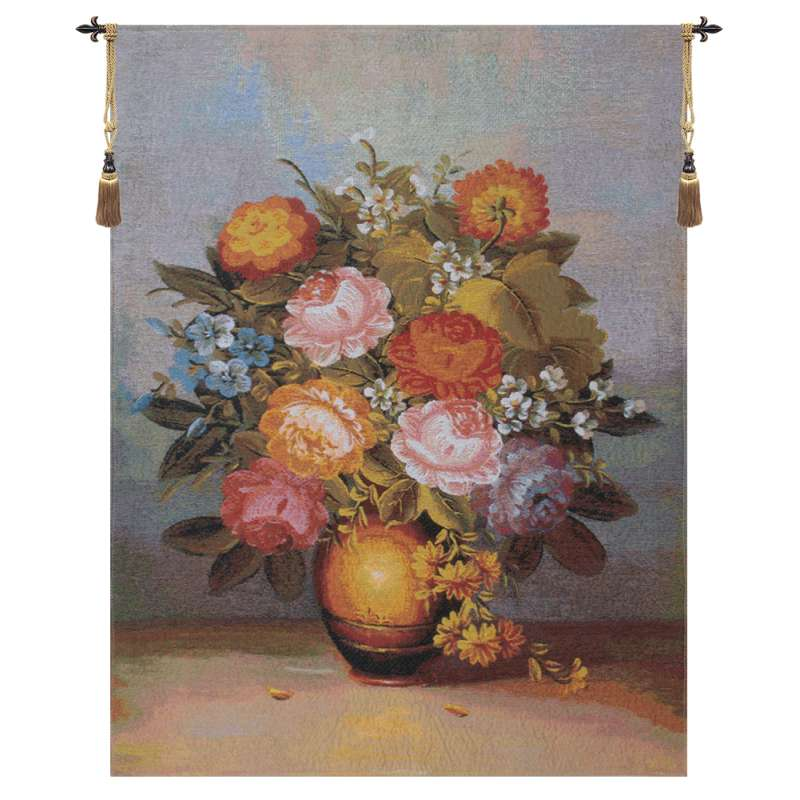 Bouquet Diana Flanders Tapestry Wall Hanging