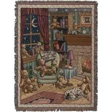 The Bears Den Tapestry Throw