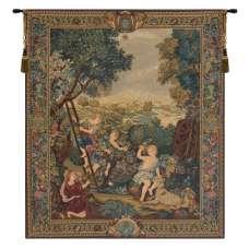 The Kids Gardeners Right Panel European Tapestry