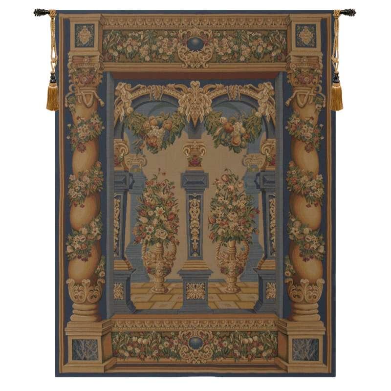 Loggia European Columns European Tapestry