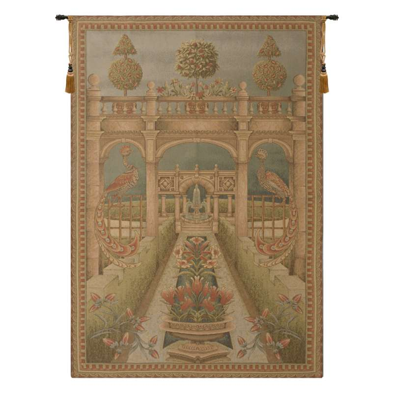 Gathered Bouquet I European Tapestry