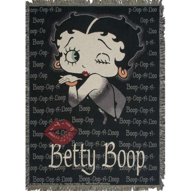Boop Oop A Doop Tapestry Throw