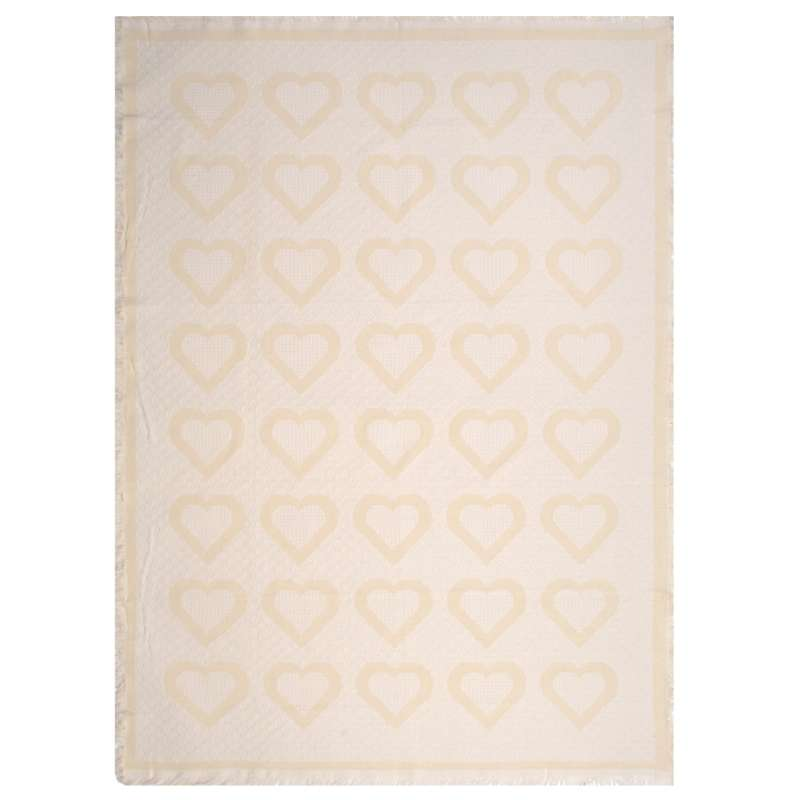 Natural Hearts II Tapestry Throw