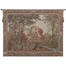Adam and Eve's Garden European Tapestry