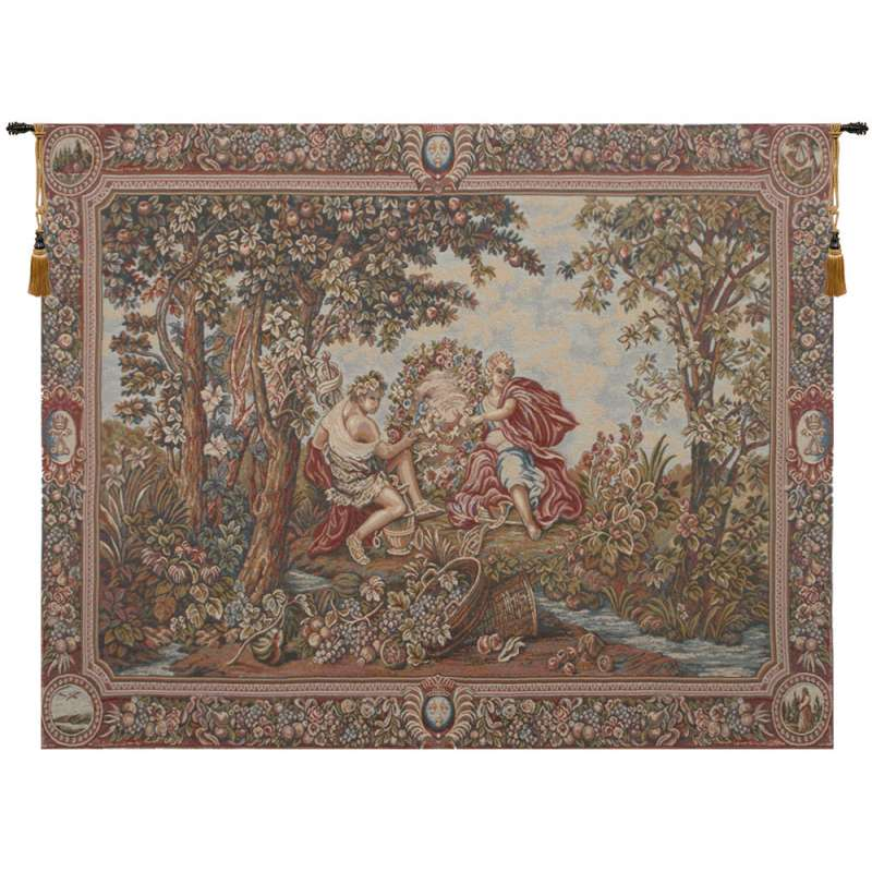 Adam and Eve's Garden European Tapestry