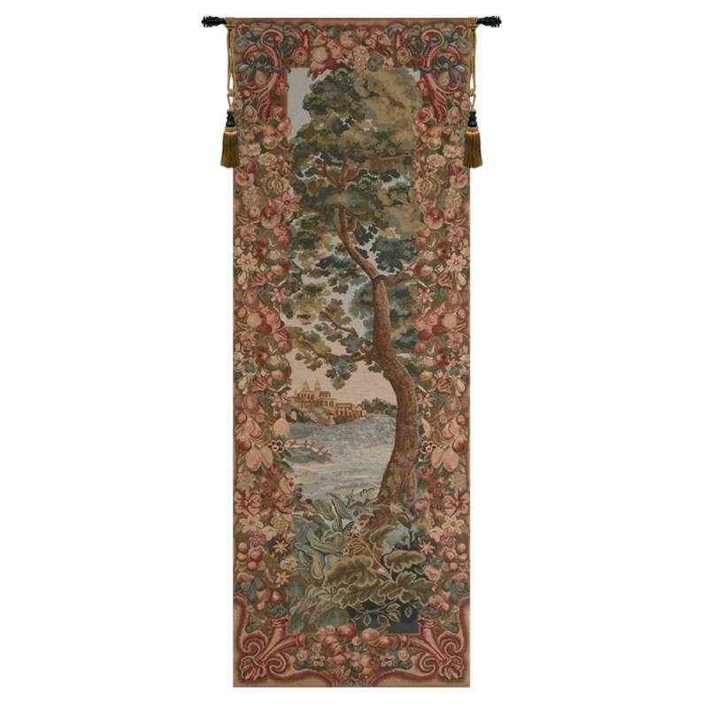 Verdure Castle Landscape Left European Tapestry