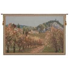 View of Italian Vineyards European Tapestry