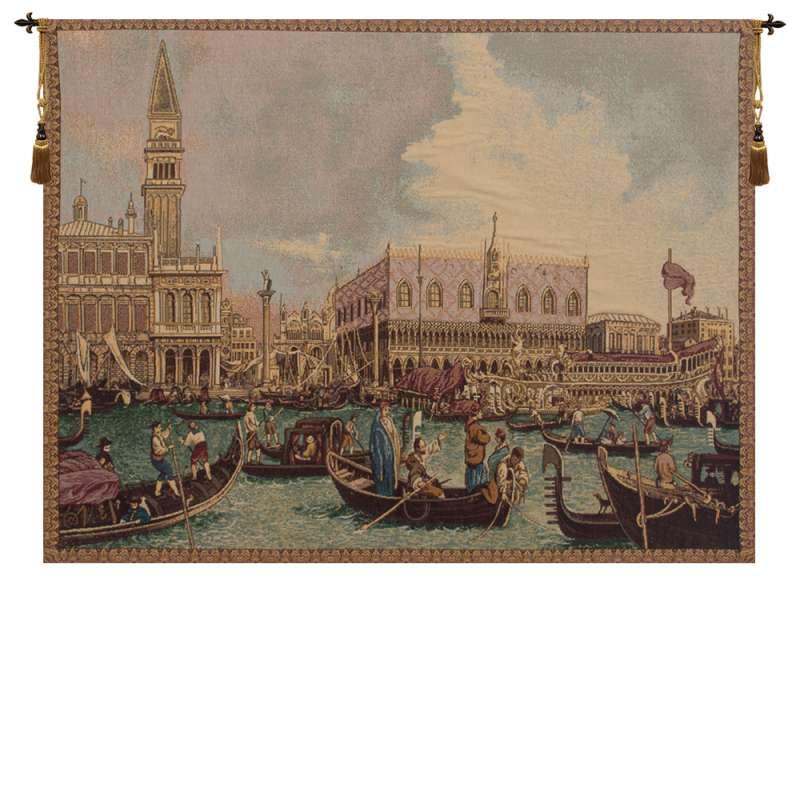 Bucintoro II Italian Tapestry Wall Hanging