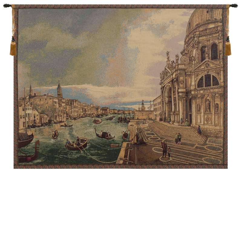 La Salute Italian Tapestry Wall Hanging