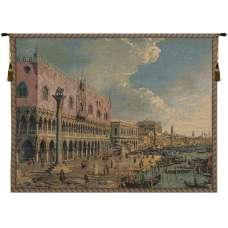 Riva Degli Schiavoni Italian Tapestry Wall Hanging