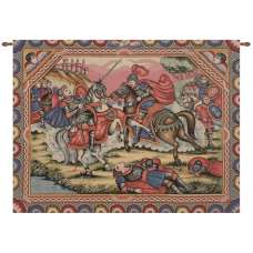 Ronald's Battle Italian Tapestry Wall Hanging