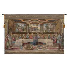 Last Supper by Rosselli Italian Tapestry Wall Hanging
