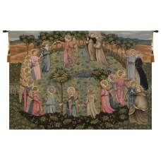 Roundance of Saints Italian Tapestry Wall Hanging