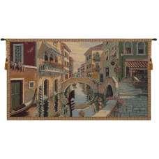 Canale Veneziano Italian Tapestry Wall Hanging