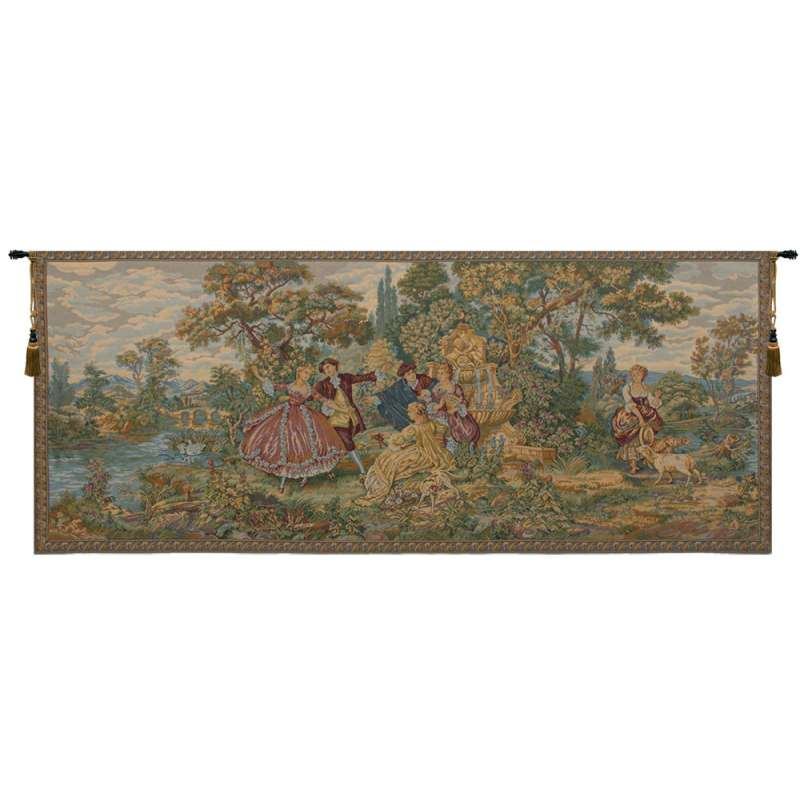 Minuetto Grande Italian Tapestry Wall Hanging